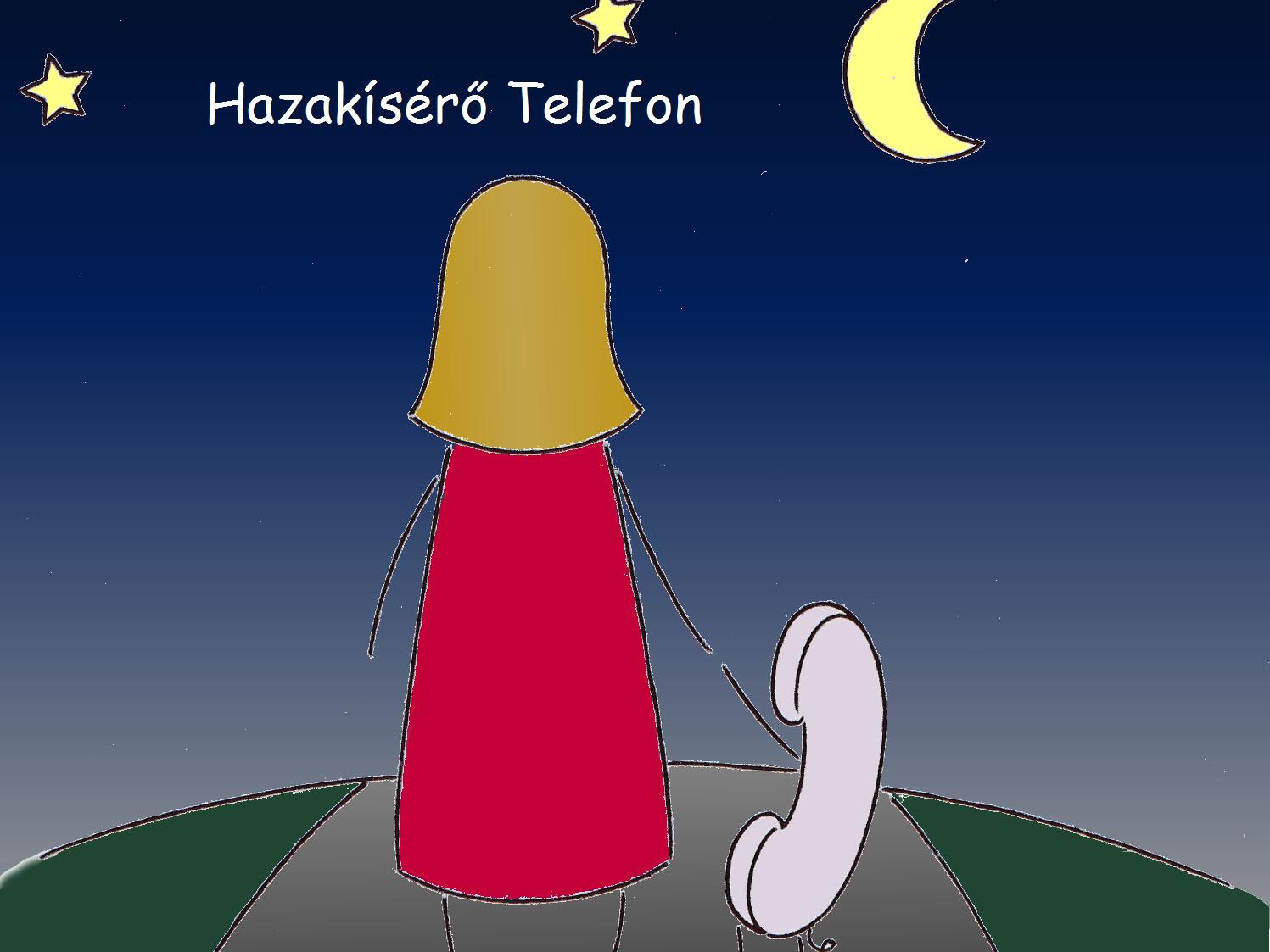 HAZAKÍSÉRŐ TELEFON